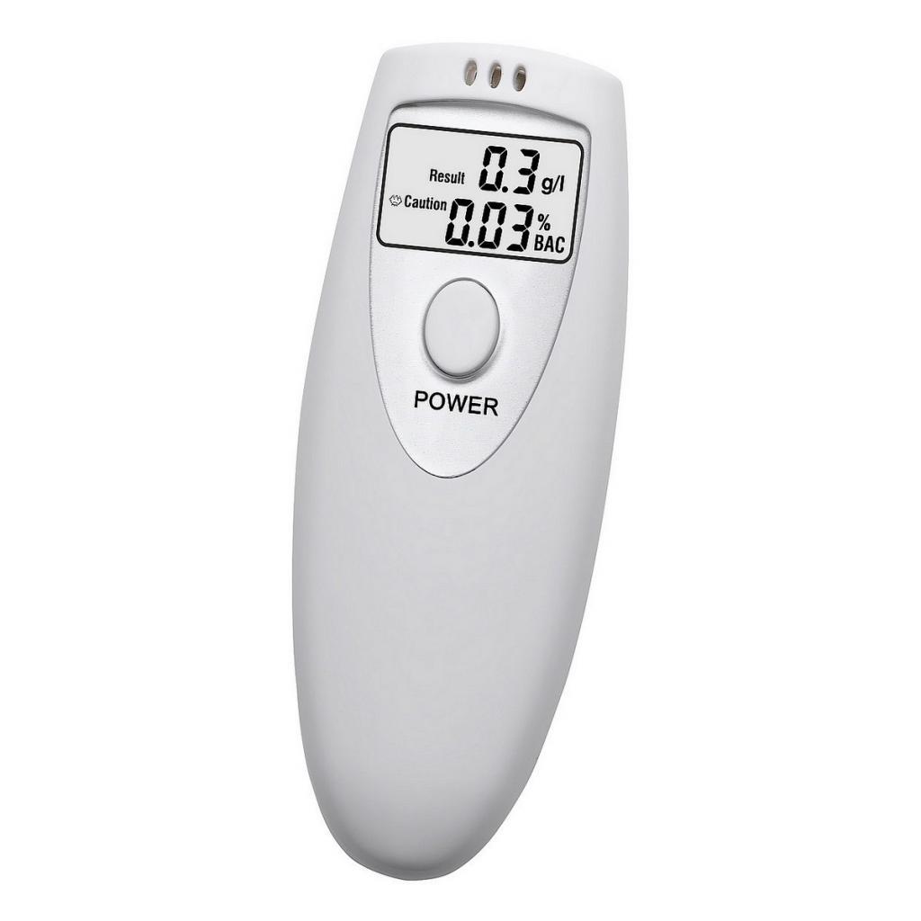 Produktové foto Compass Alkohol tester SILVER, digitální