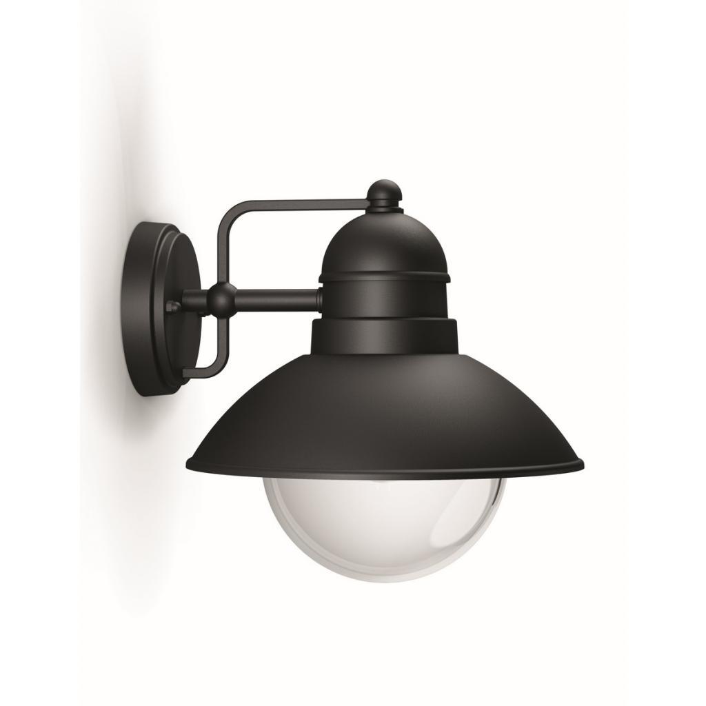 Produktové foto Philips 17237/30/PN Hoverfly Venkovní nástěnné svítidlo 24 cm, černá