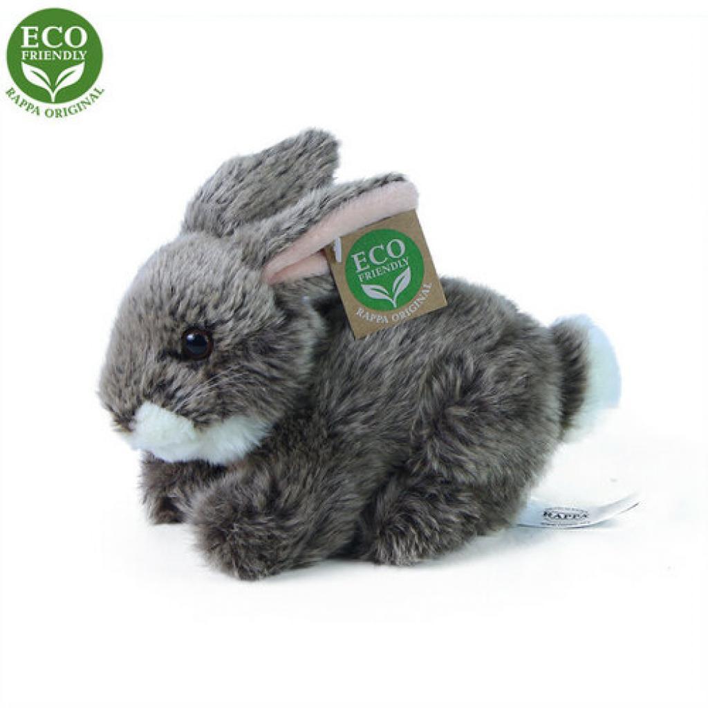 Produktové foto králík tmavě šedý ležící ECO-FRIENDLY 17 cm