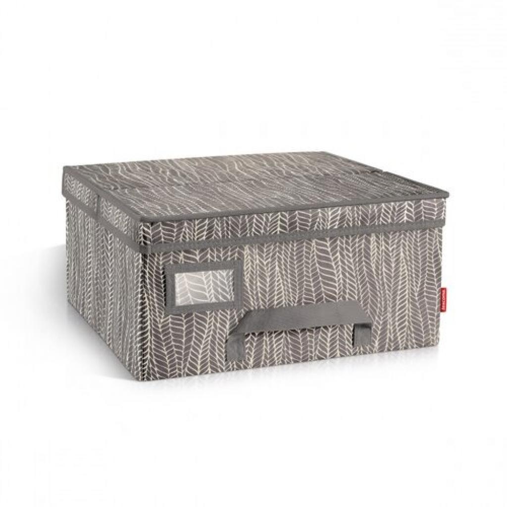 Produktové foto Krabice na oděvy FANCY HOME 40 x 35 x 20 cm, cappuccino