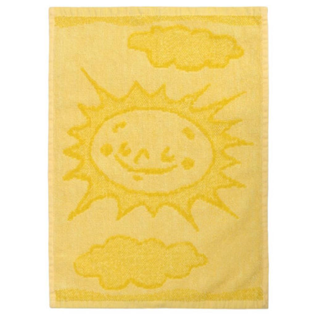 Produktové foto Profod Dětský ručník Sun yellow, 30 x 50 cm