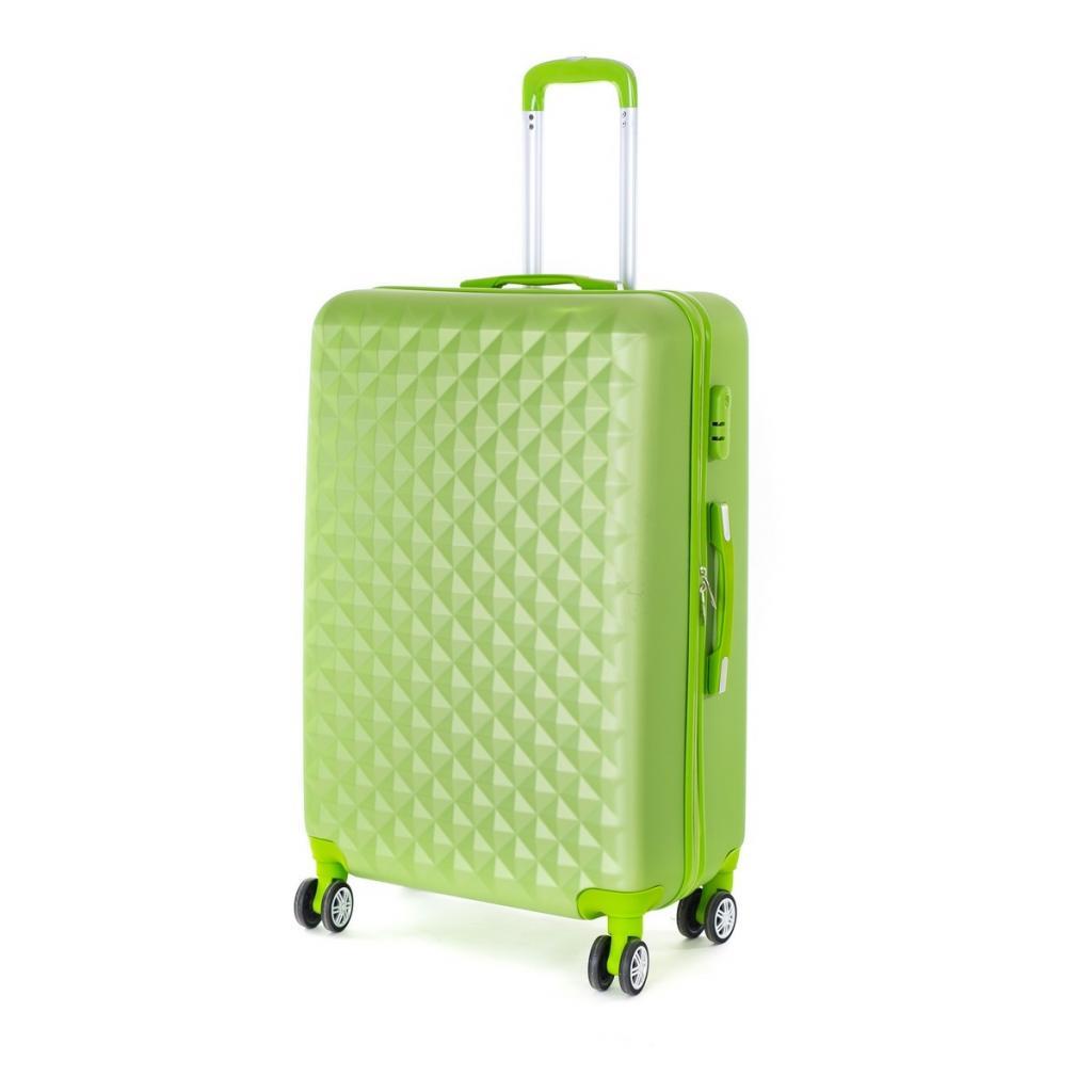 Produktové foto Pretty UP Cestovní skořepinový kufr ABS21 L, zelená