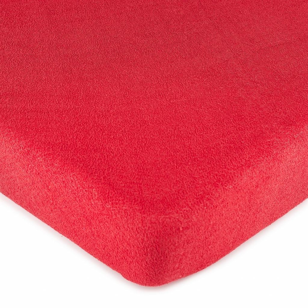 Produktové foto 4Home froté prostěradlo červená, 90 x 200 cm
