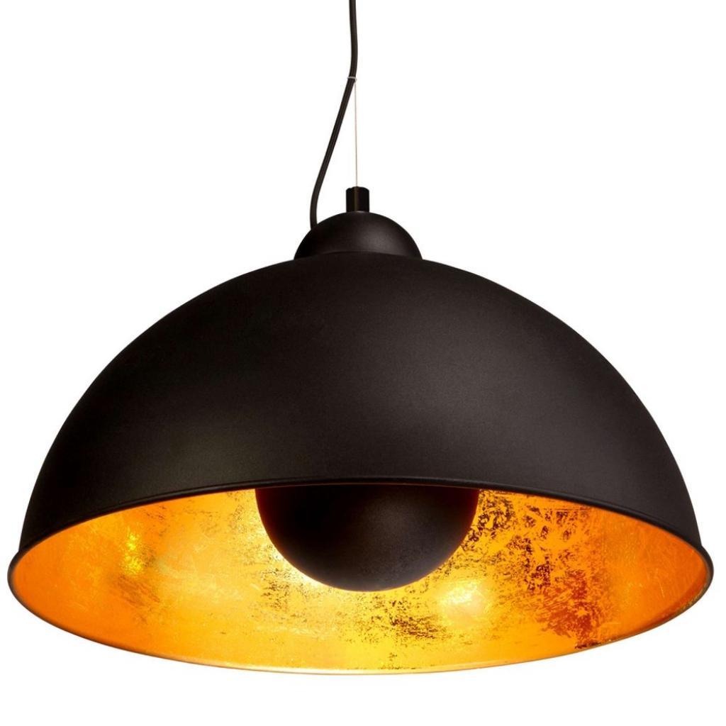 Produktové foto SATELLIGHT Závěsná lampa - černá/zlatá
