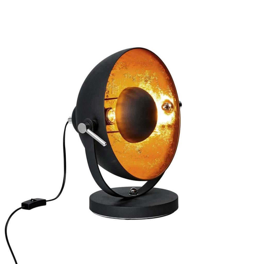 Produktové foto SATELLIGHT Stolní lampa 38 cm - černá/zlatá