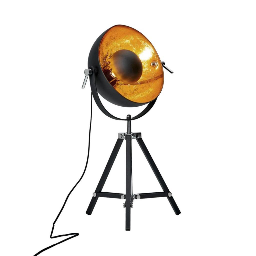 Produktové foto SATELLIGHT Stolní lampa 40 cm - černá/zlatá