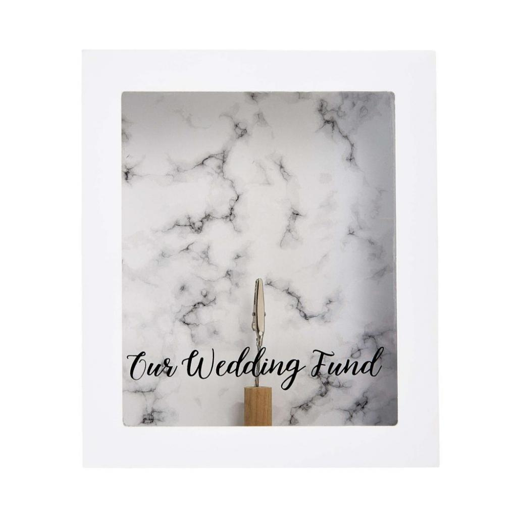 Produktové foto SAVE UP Rám na obraz/kasička svatba