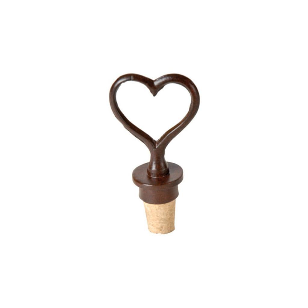Produktové foto Zátka na víno ve tvaru srdce Antic Line Heart