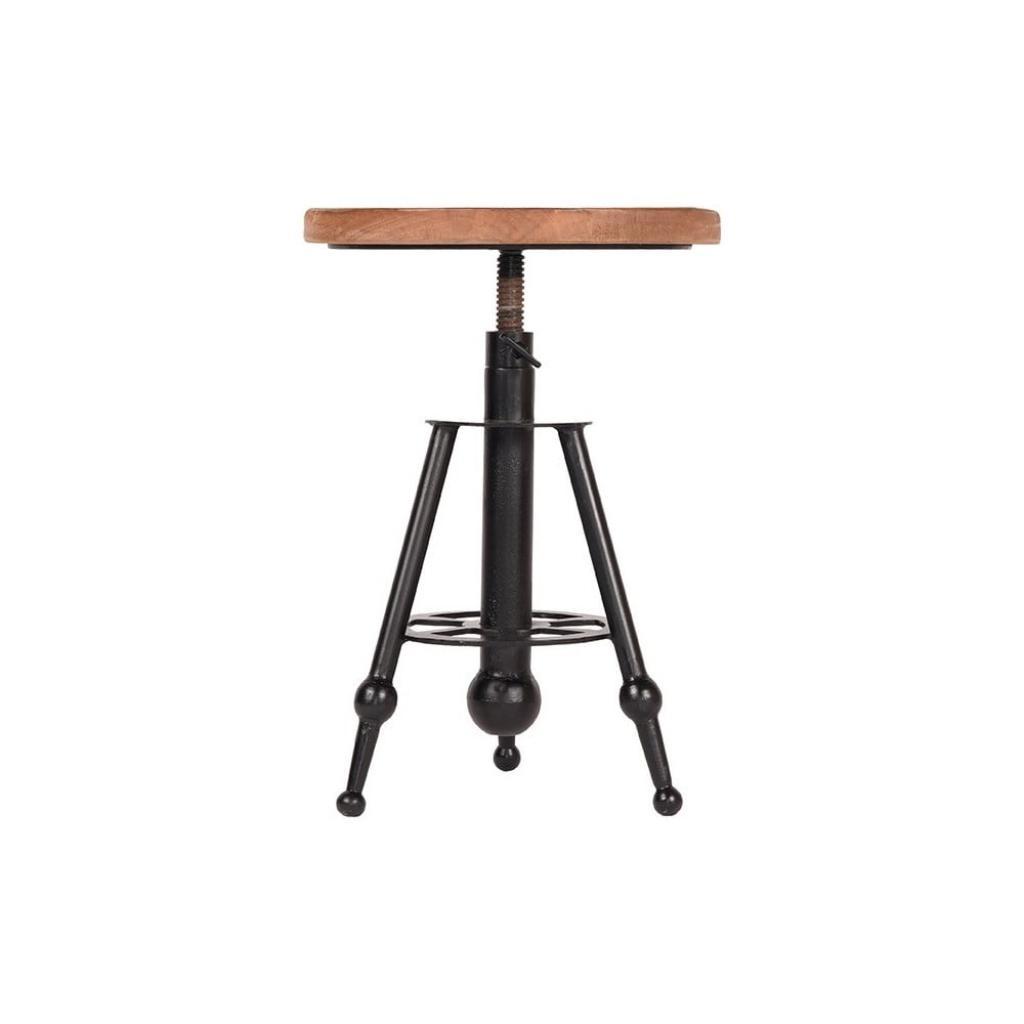 Produktové foto Barová stolička zmangového dřeva LABEL51 Solid