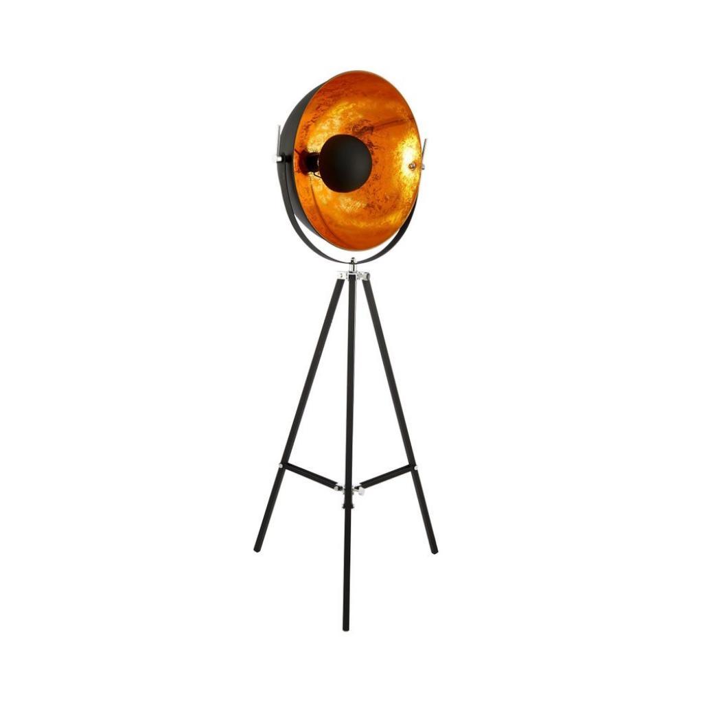 Produktové foto SATELLIGHT Stojací lampa - černá/zlatá
