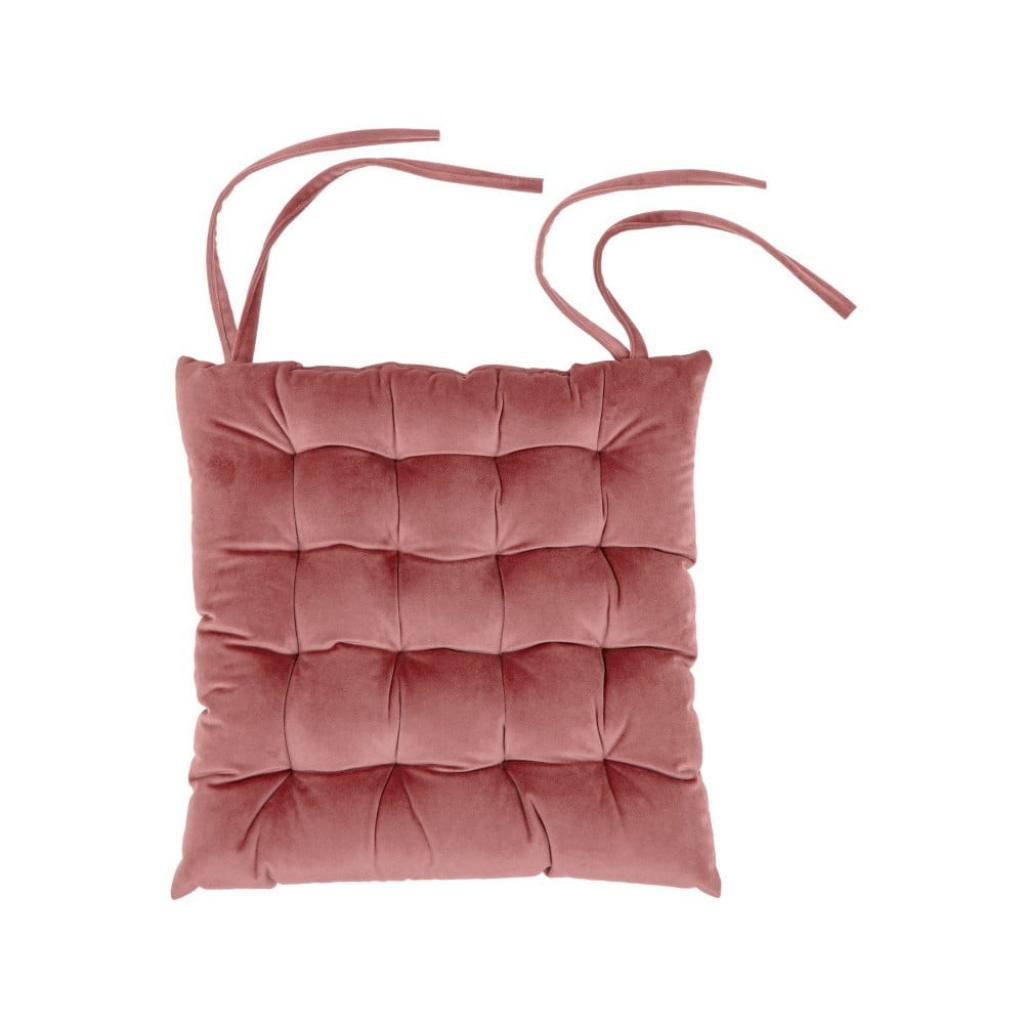 Produktové foto Růžový podsedák Tiseco Home Studio Chairy, 37x37cm