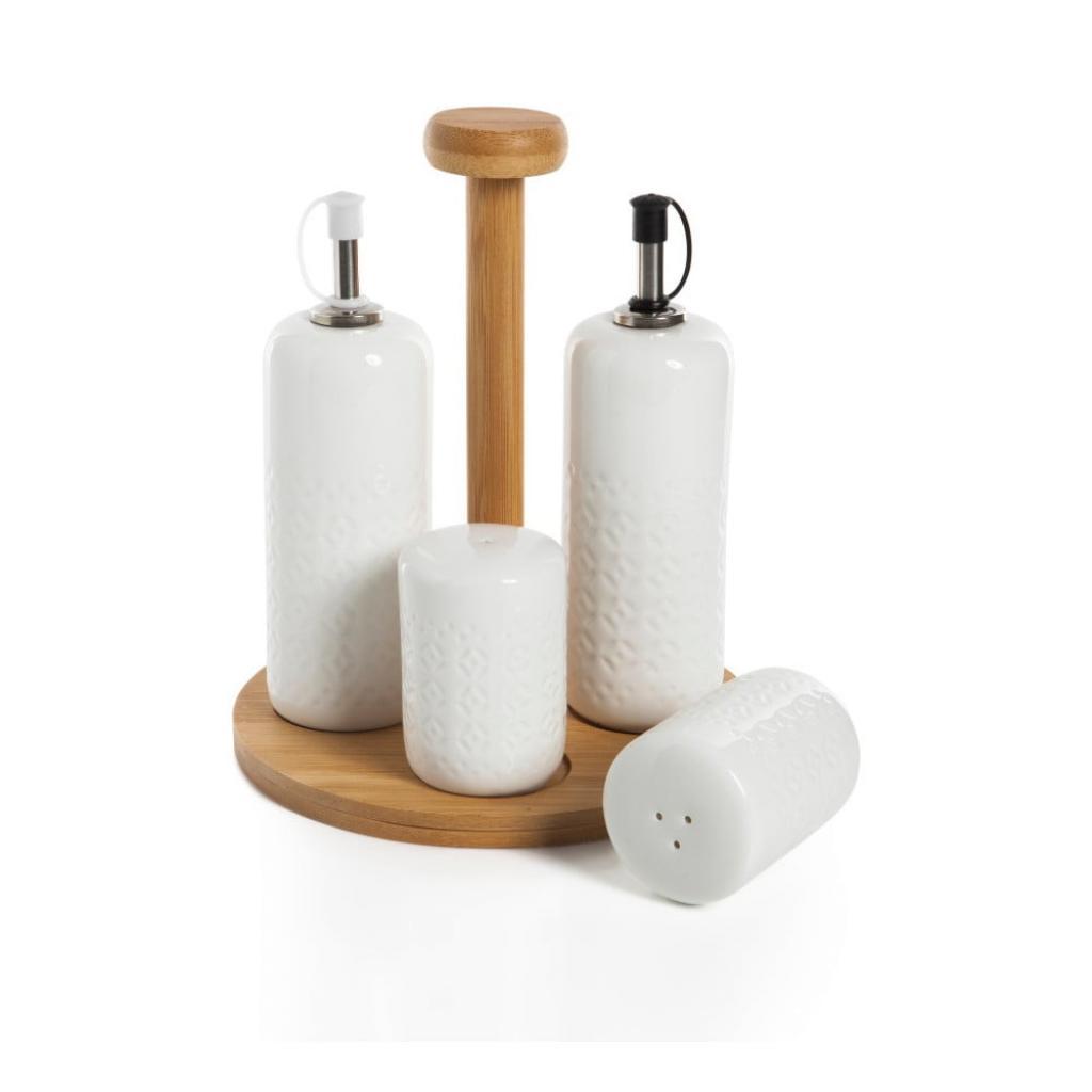 Produktové foto Dochucovací set s bambusovým stojánkem Bambum Champion