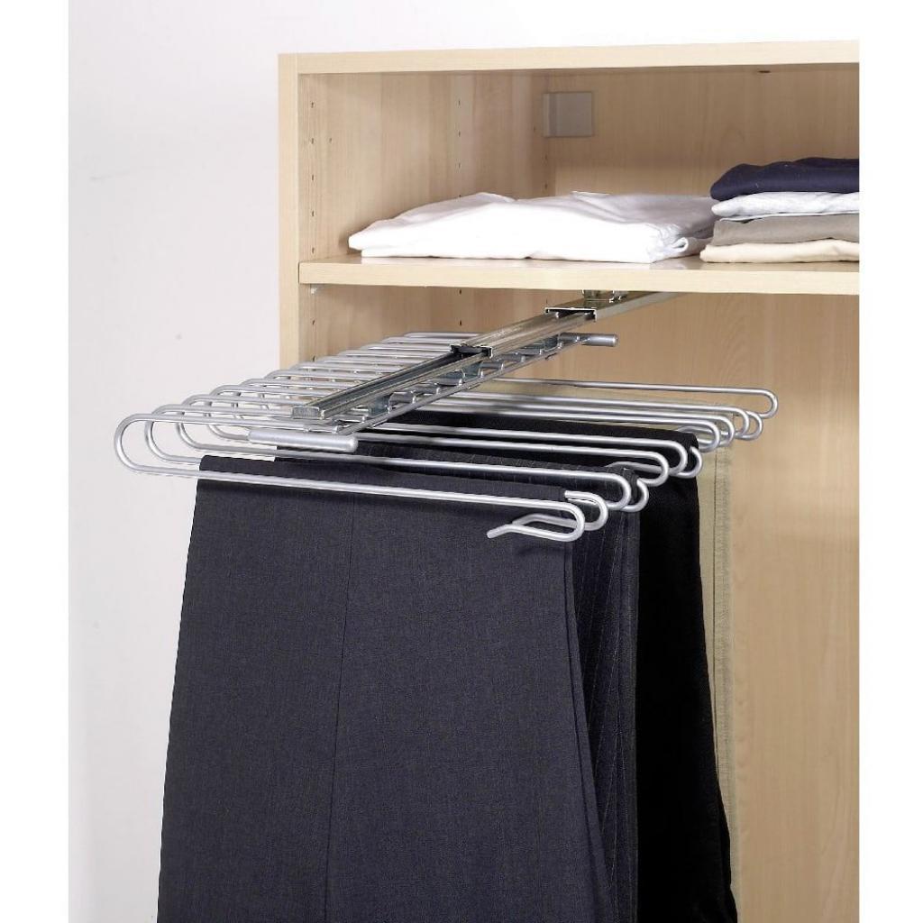 Produktové foto Vysouvatelný věšák na kalhoty Wenko Wardrobe