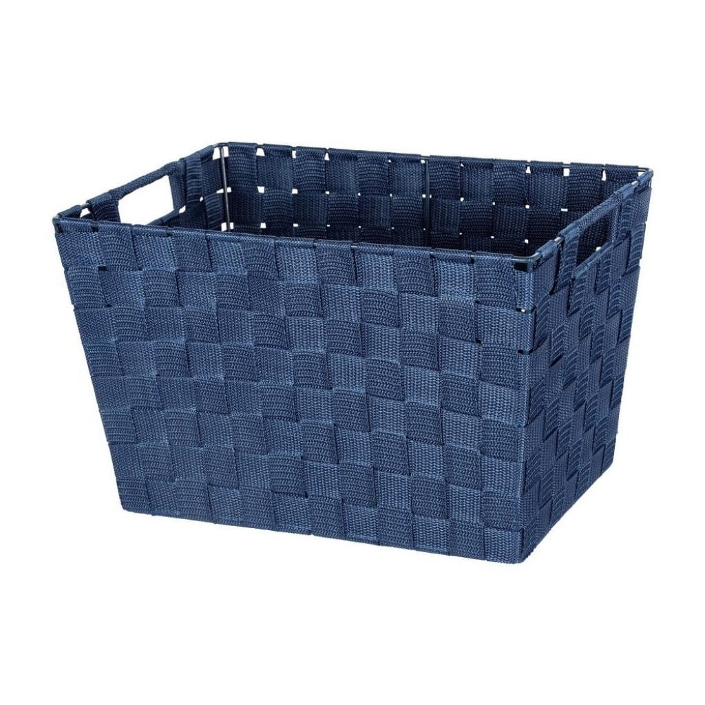 Produktové foto Tmavě modrý košík Wenko Adria, 25,5x35cm