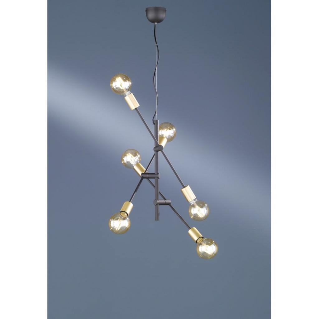 Produktové foto Závěsné svítidlo Trio Cross, výška 1,5 m