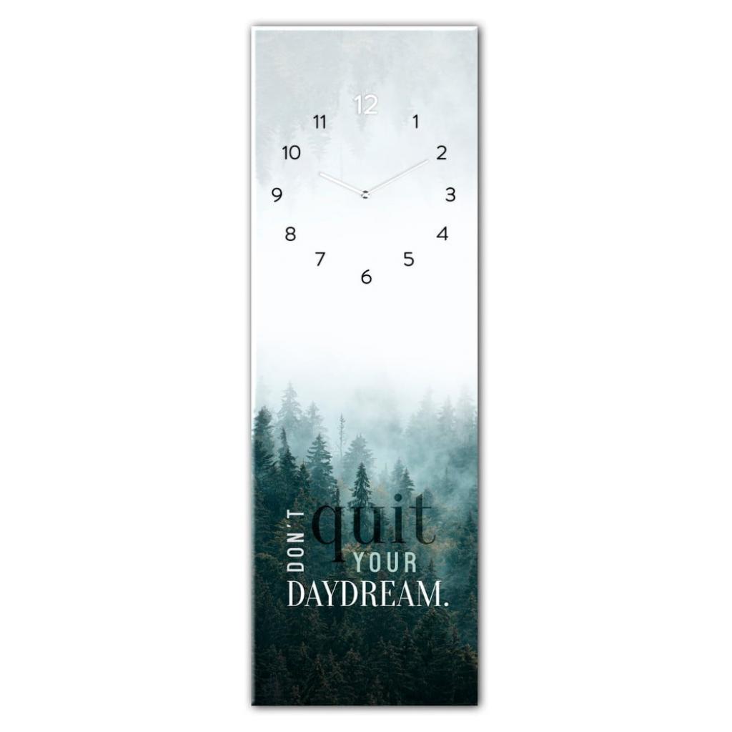 Produktové foto Skleněné nástěnné hodiny Styler Daydream, 20 x 60 cm