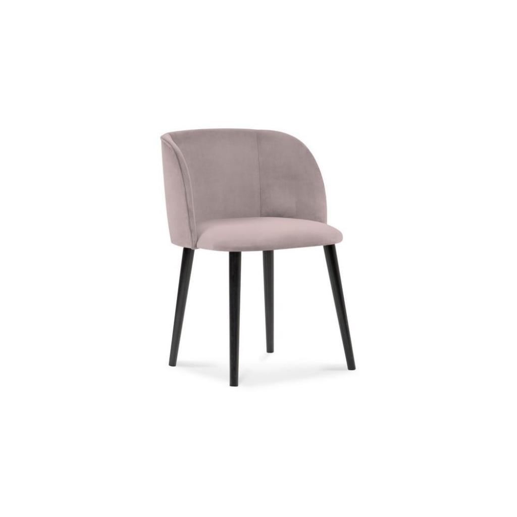 Produktové foto Levandulově fialová jídelní židle se sametovým potahem Windsor & Co Sofas Aurora