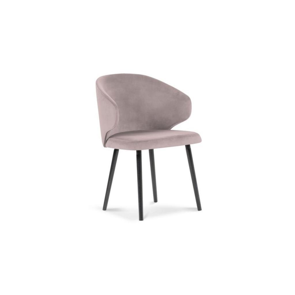 Produktové foto Levandulově fialová jídelní židle se sametovým potahem Windsor & Co Sofas Nemesis