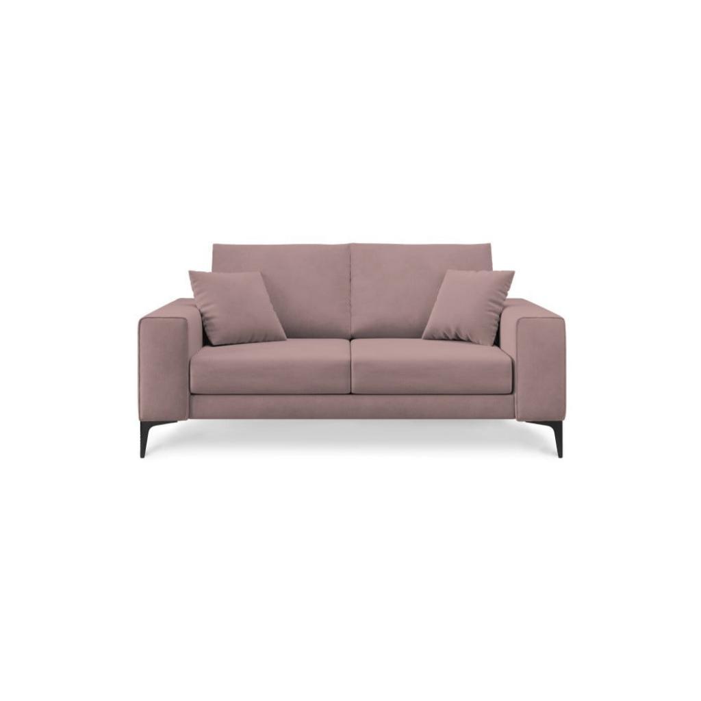 Produktové foto Světle růžová dvoumístná pohovka Cosmopolitan Design Lugano