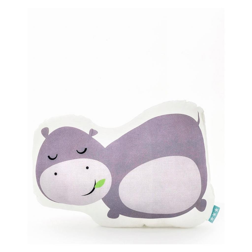 Produktové foto Bavlněný polštářek Mr. Fox Hippo 40x30cm