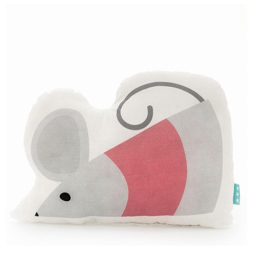 Produktové foto Bavlněný polštářek Mr. Fox Mouse, 40x30cm