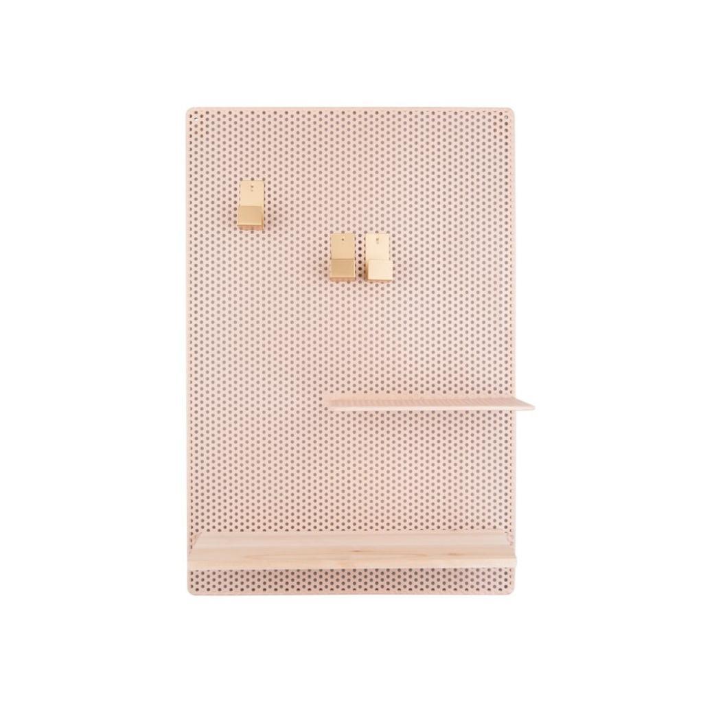 Produktové foto Pískově hnědá kovová nástěnka PT LIVING Perky, 34,5x52,5cm
