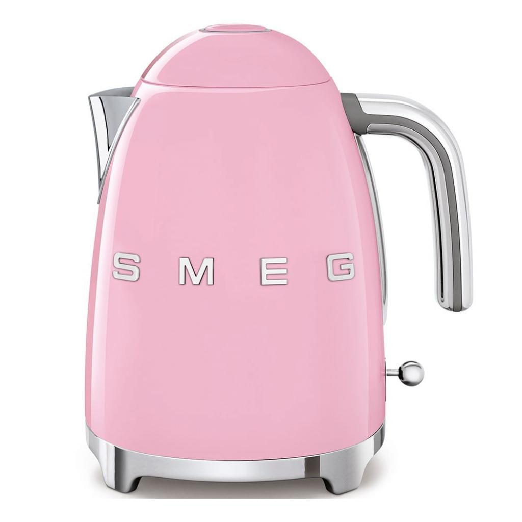 Produktové foto Růžová rychlovarná konvice SMEG