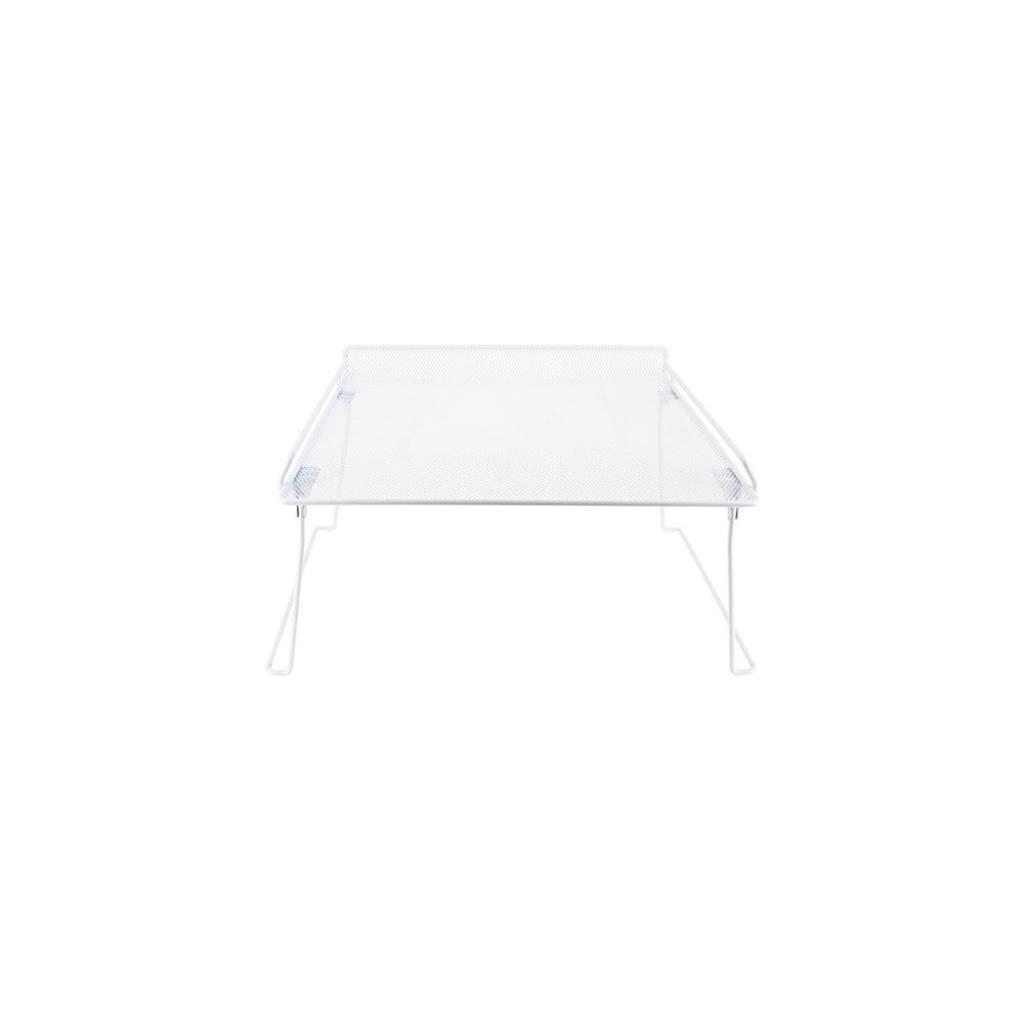 Produktové foto Bílá rozložitelná polička do skříně na oblečení Compactor Stackable Rack