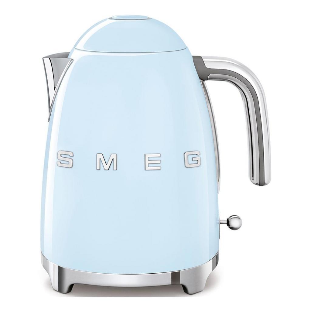 Produktové foto Bledě modrá rychlovarná konvice SMEG