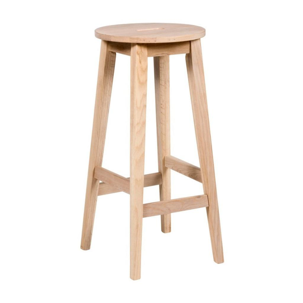 Produktové foto Matně lakovaná barová stolička z dubového dřeva Rowico Frigg
