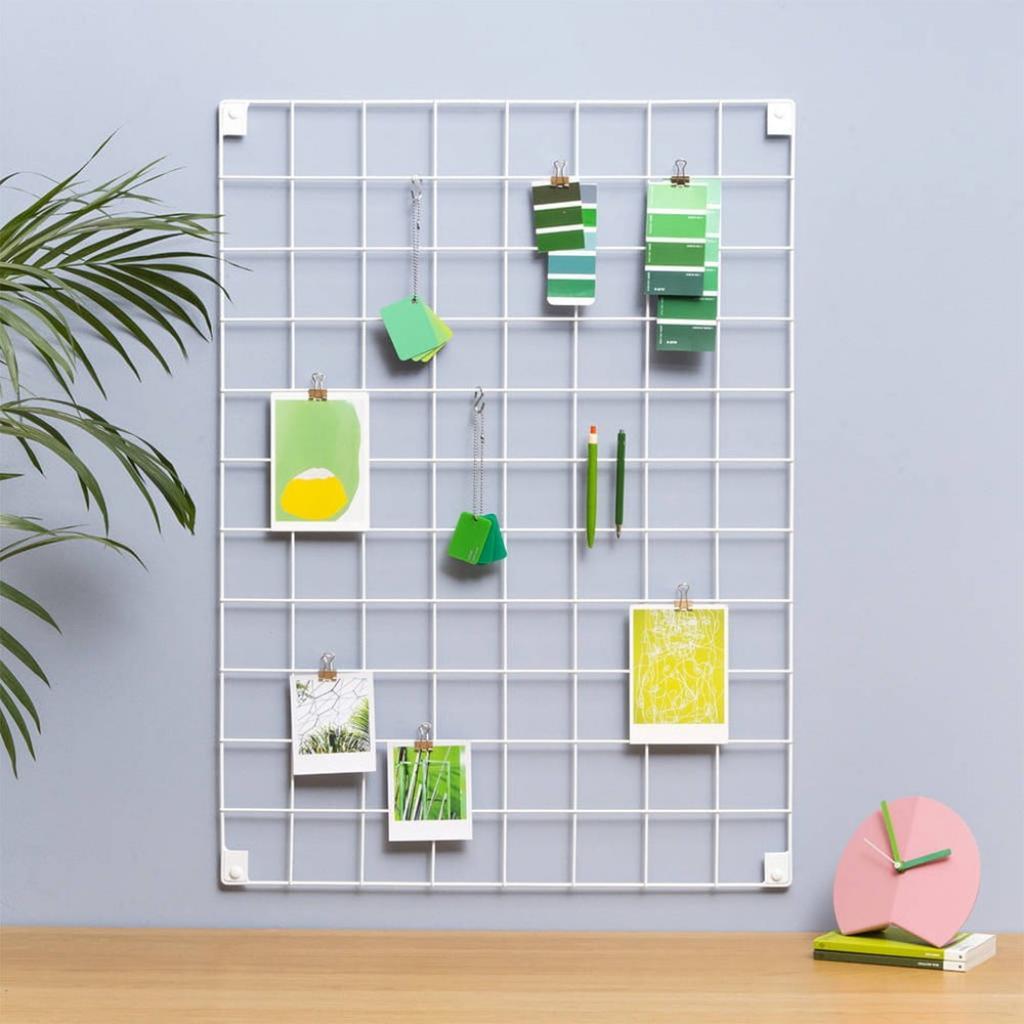 Produktové foto Bílá kovová nástěnka Reminder, 50 x 70 cm