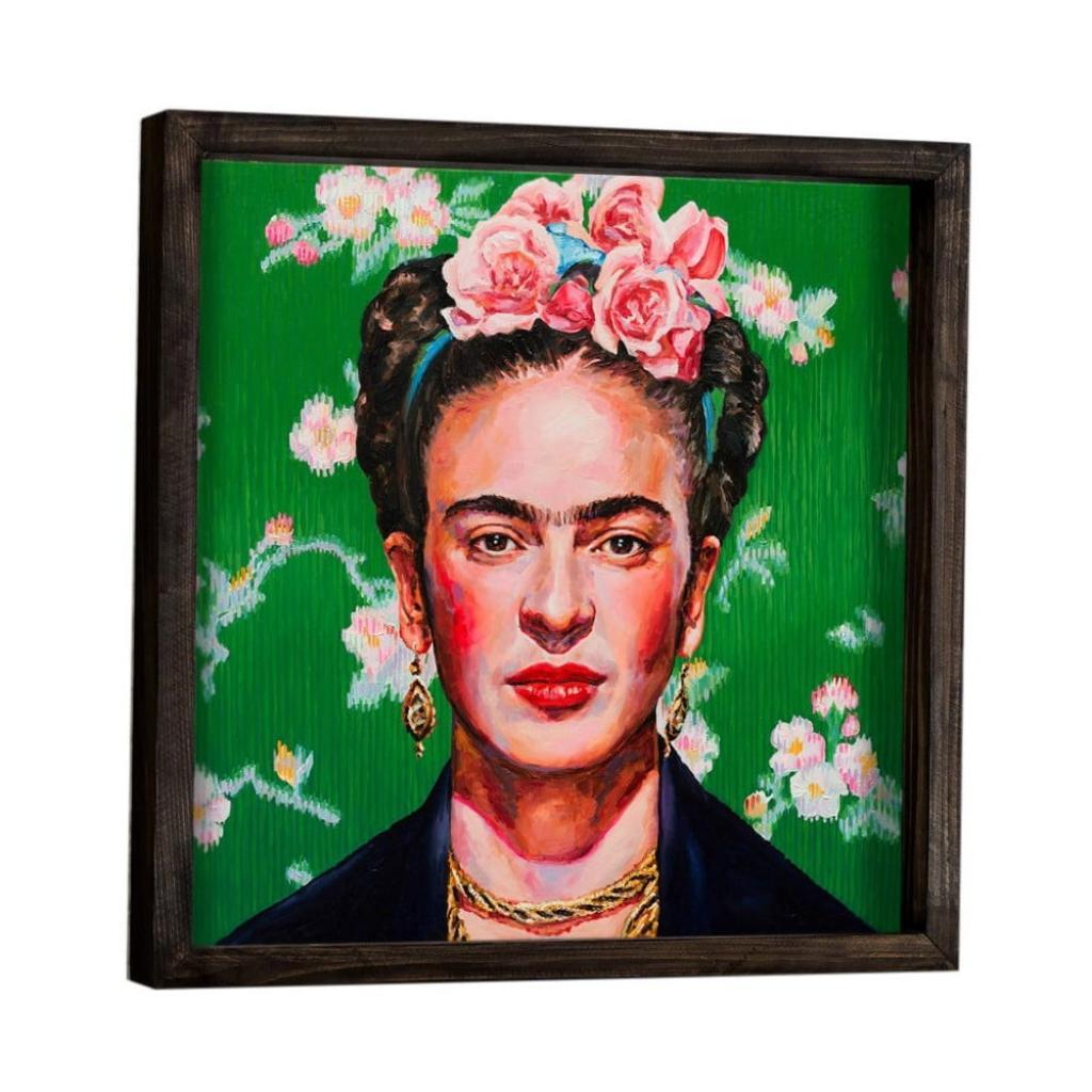 Produktové foto Nástěnný obraz Frida Kahlo, 34 x 34 cm