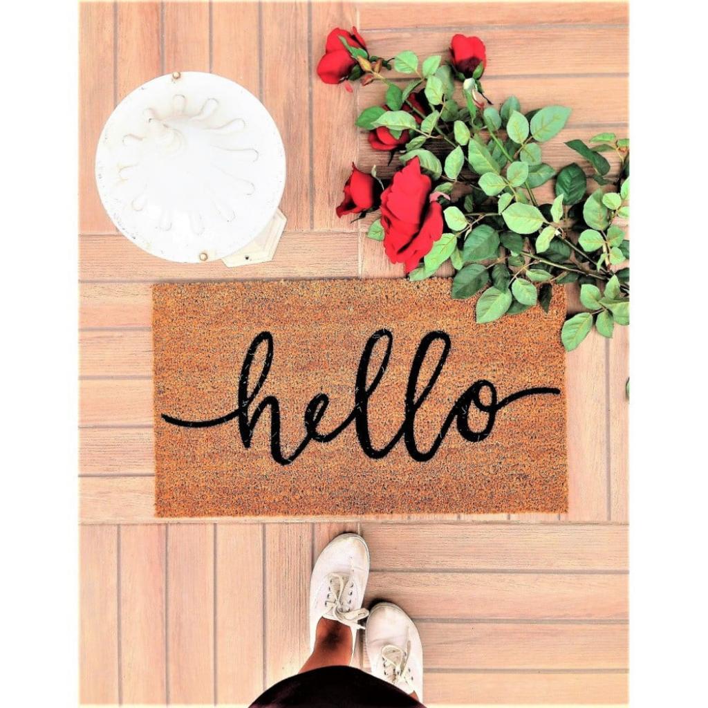 Produktové foto Rohožka Doormat Hello, 70 x 40 cm