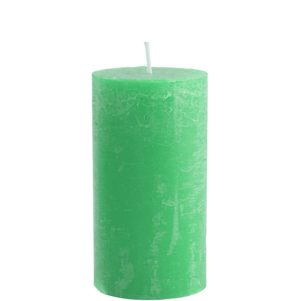 Produktové foto RUSTIC Svíčka 13 cm - zelená