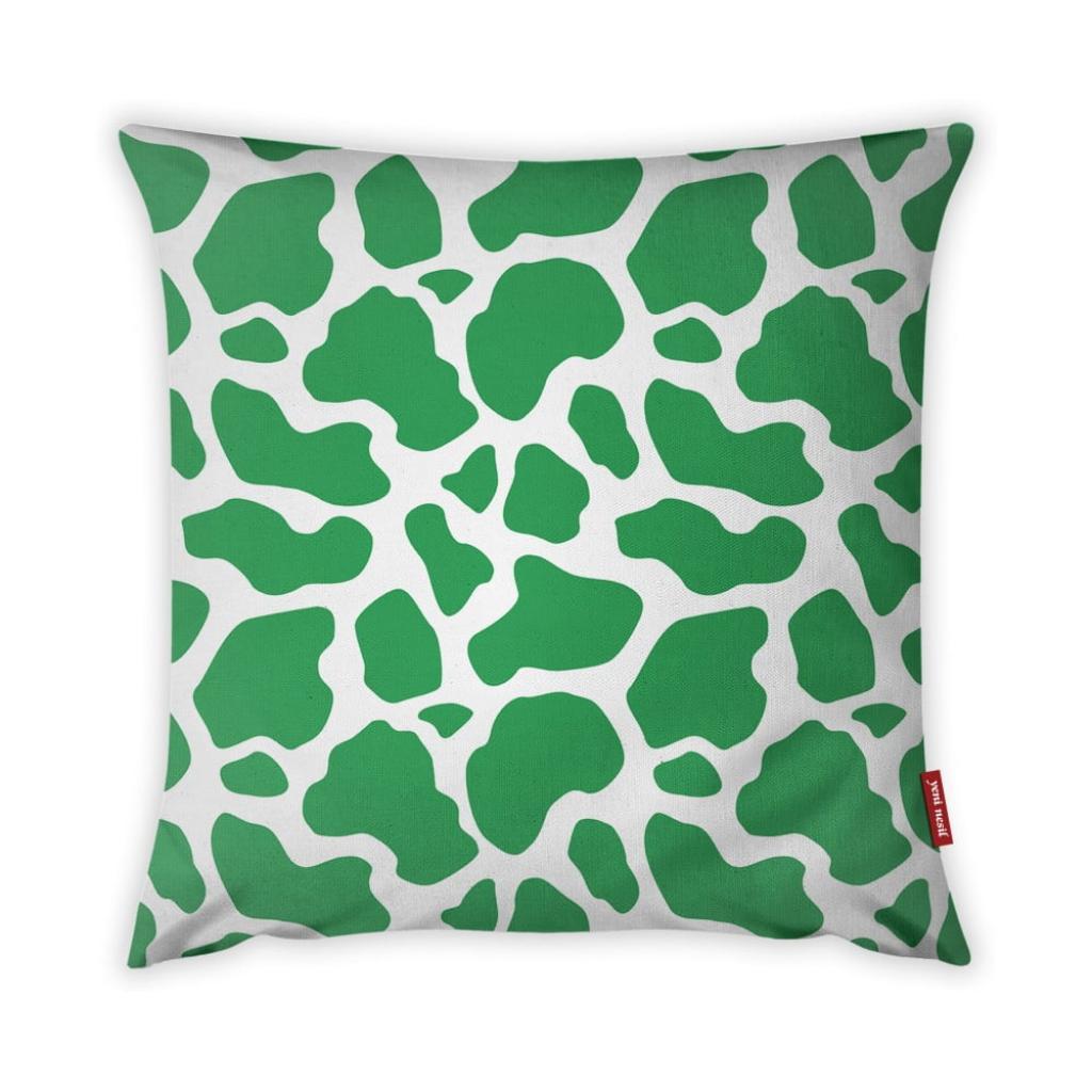 Produktové foto Zeleno-bílý povlak na polštář Vitaus Animal Print, 43 x 43 cm