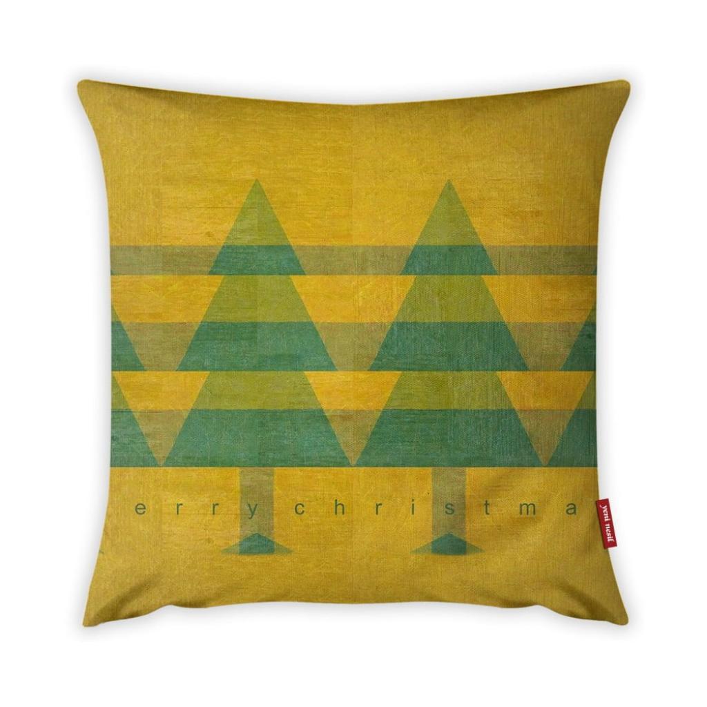 Produktové foto Povlak na polštář Vitaus Vintage Trees, 43 x 43 cm