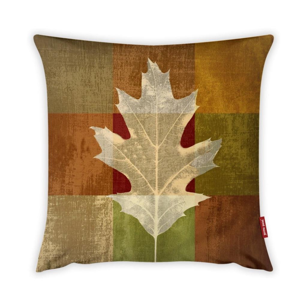 Produktové foto Povlak na polštář Vitaus Autumn Parade Leafe, 43 x 43 cm
