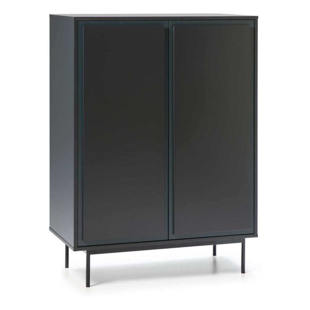 Produktové foto Tmavě šedo-modrá skříňka Teulat Forma