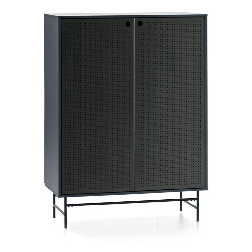 Produktové foto Černo-modrá skříňka Teulat Punto