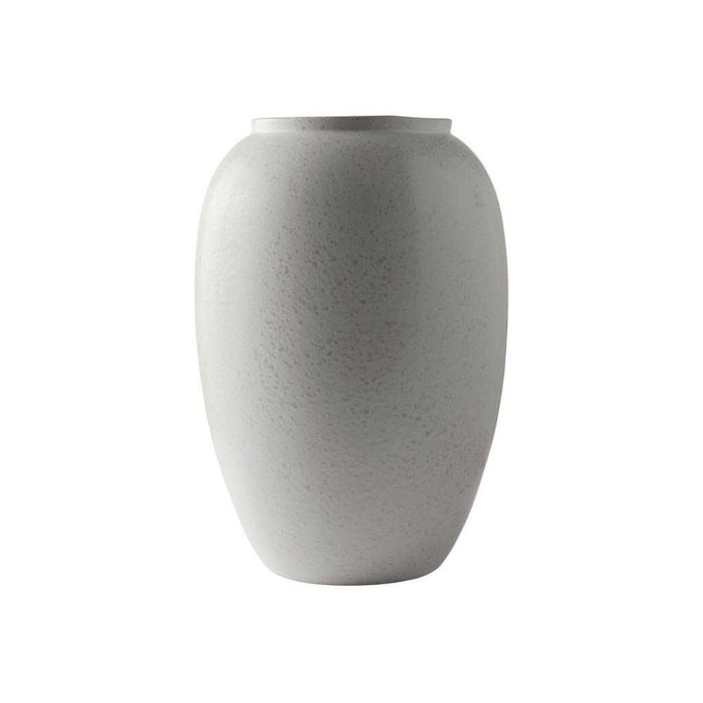 Produktové foto Krémová kameninová váza Bitz Basics Matte Cream, výška 50 cm