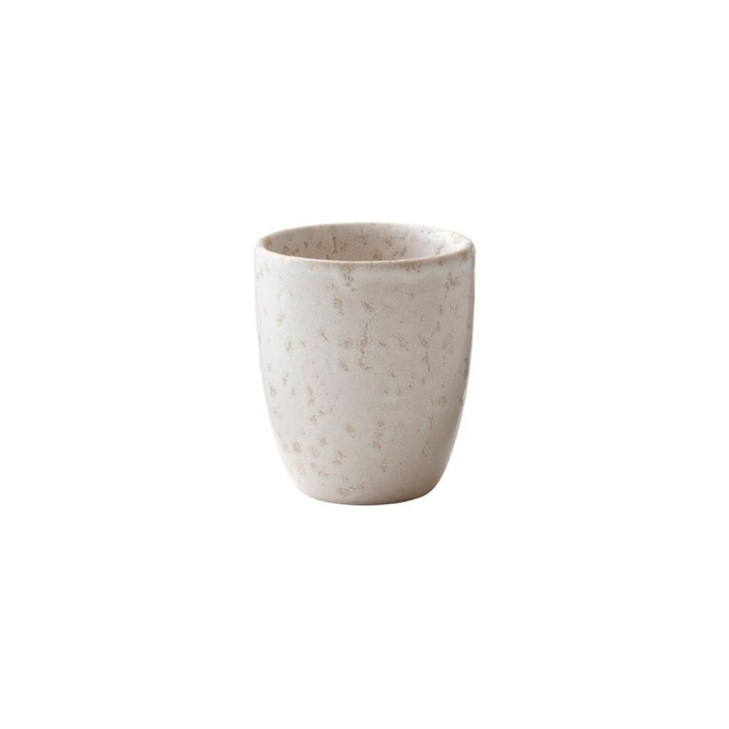Produktové foto Krémový kameninový hrnek na espresso Bitz Basics Matte Cream, 100 ml