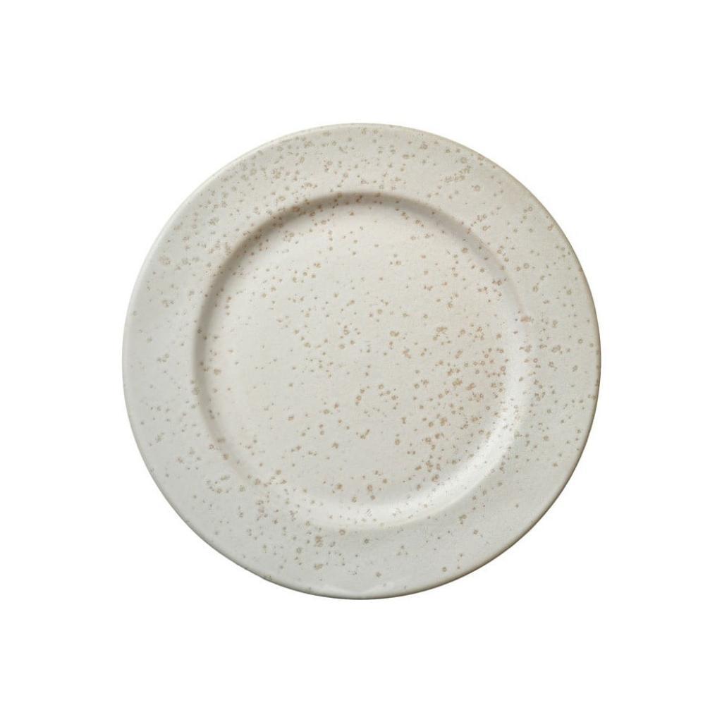 Produktové foto Krémový kameninový dezertní talíř Bitz Basics Matte Cream, ⌀ 22 cm