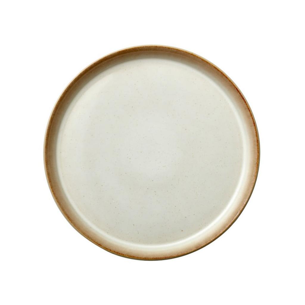 Produktové foto Krémový kameninový mělký talíř Bitz Basics Cream, ⌀ 27 cm