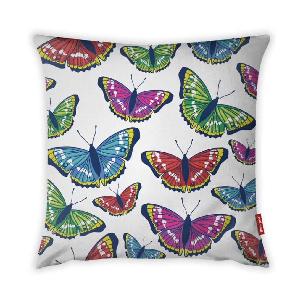 Produktové foto Povlak na polštář Vitaus Butterflies, 43 x 43 cm