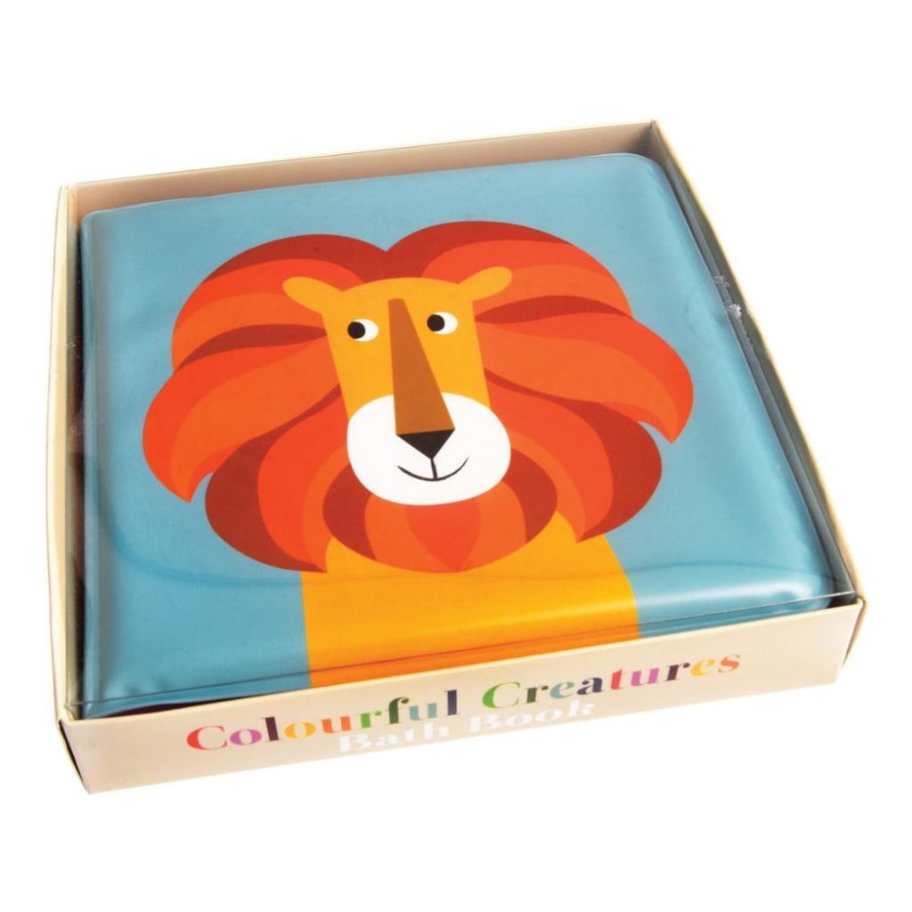 Produktové foto Voděodolná dětská knížka na koupání se lvem Rex London