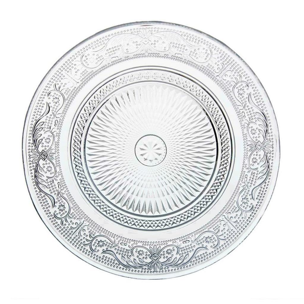 Produktové foto Skleněný talíř Unimasa Romance, ⌀ 18 cm