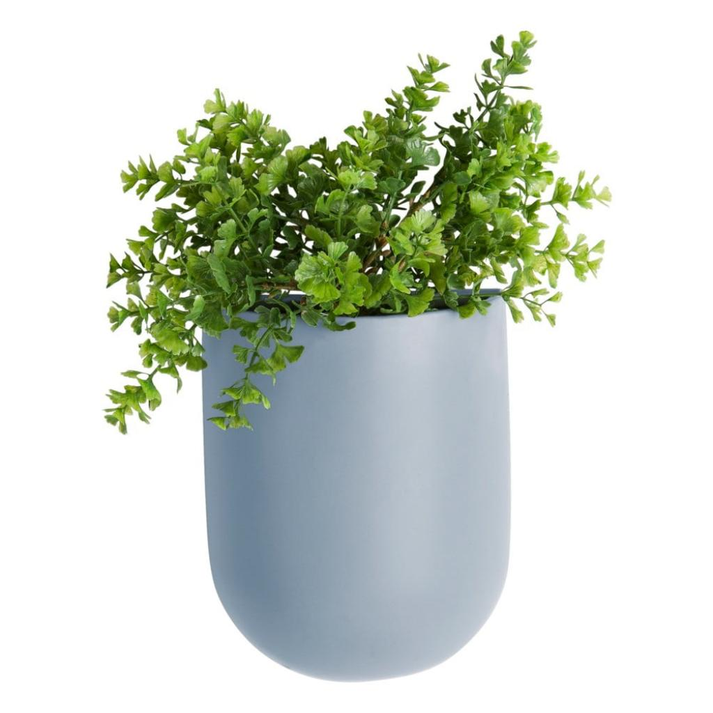 Produktové foto Modrý nástěnný květináč PT LIVING Oval
