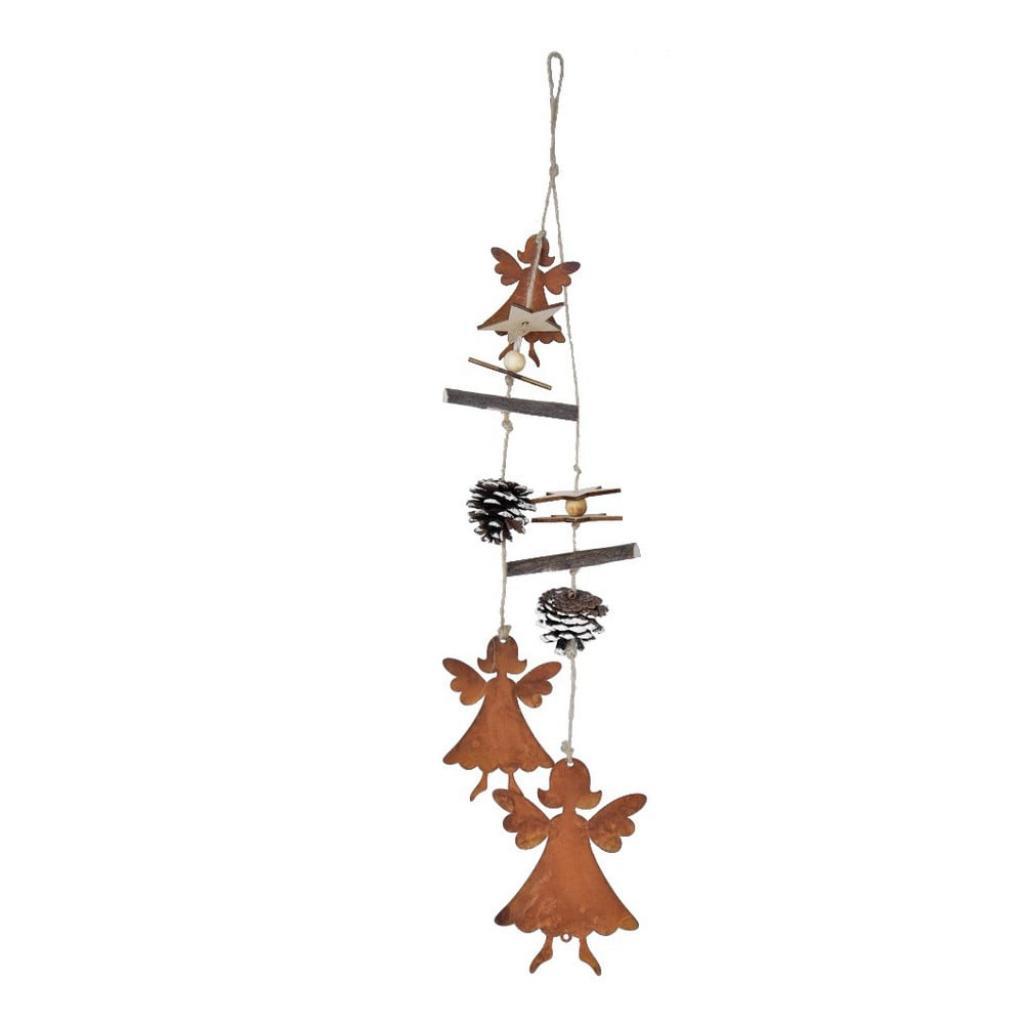 Produktové foto Závěsná vánoční dekorace s anděly Ego Dekor Lousi,výška54cm