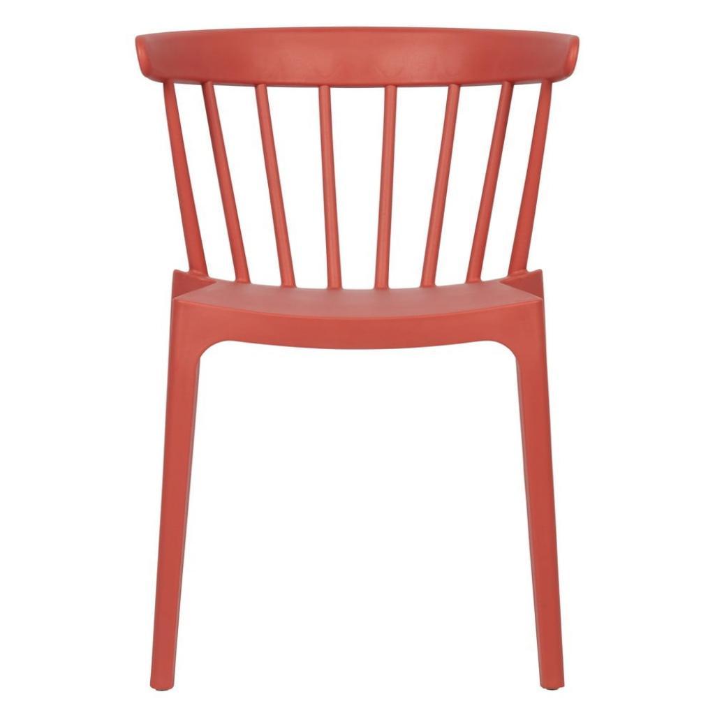 Produktové foto Tmavě růžová jídelní židle vhodná do interiéru i exteriéru WOOOD Bliss