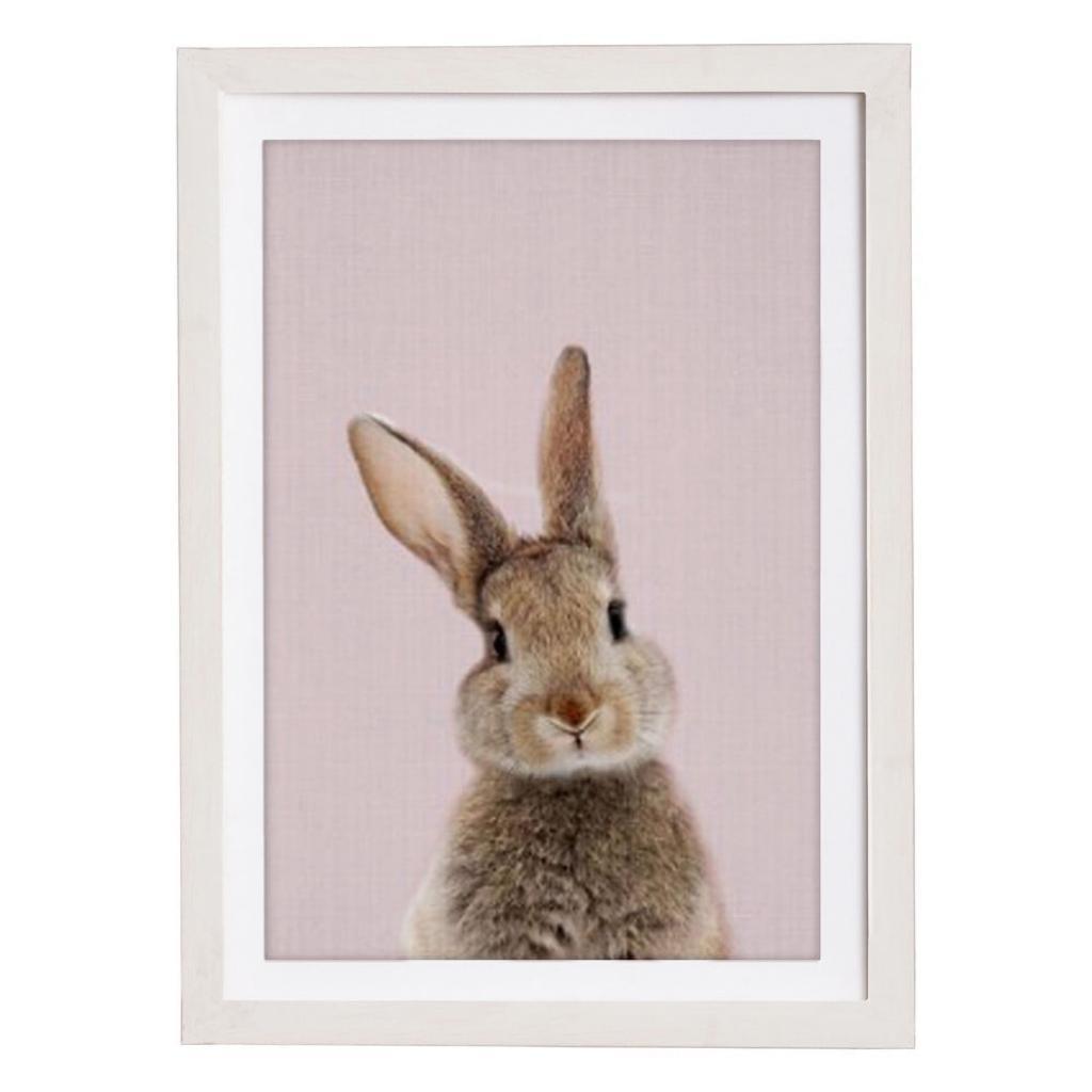 Produktové foto Nástěnný obraz v rámu Querido Bestiario Baby Rabbit, 30 x 40 cm